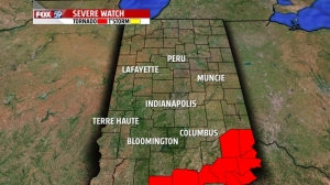 Tornado Watch issued for several southern Indiana counties until 9 p.m.