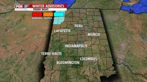 Snow advisory in northwest indiana