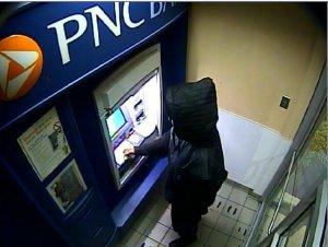 ATM surveillance footage