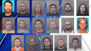 johnson county meth arrests