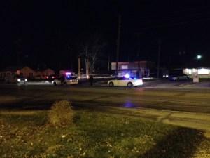 Mike Davis/Fox59 Fatal shooting near Club Silhouette in the 6700 block of E. 38th St.