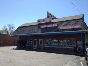 Parsley's Liquor Store in Plainfield