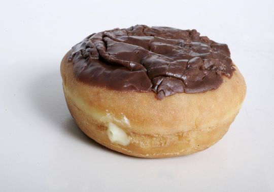 Like a Boston creme? Have a Boston creme for free when you purchase any beverage at participating Dunkin' Donuts on National Doughnut Day.(Photo: Kelly Wilkinson/The Star)