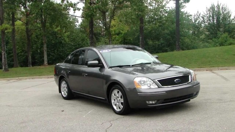 The suspect was driving a 2006 gray Ford Five Hundred, similar to this one.