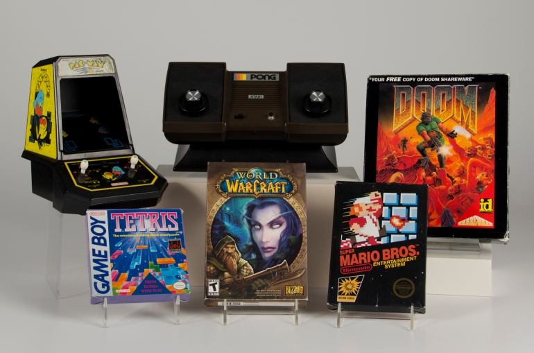 Inaugural Video Game Hall of Fame class (photo from The Strong National Museum of Play)