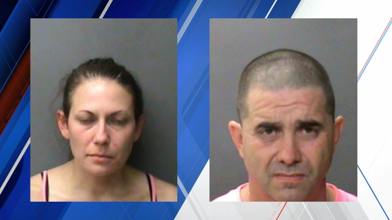 MUG SHOTS: Melanie Jayne Smith (left), Murl Tyler Jr. (right)