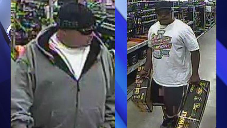 Surveillance photos of suspects