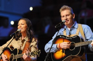 Joey Martin Feek (left) and Rory Feek (right) perform at The 17th Annual Inspirational Country Music Awards at Schermerhorn Symphony Center on October 28, 2011 in Nashville, Tennessee. (Photo by Rick Diamond/Getty Images for CCMA)