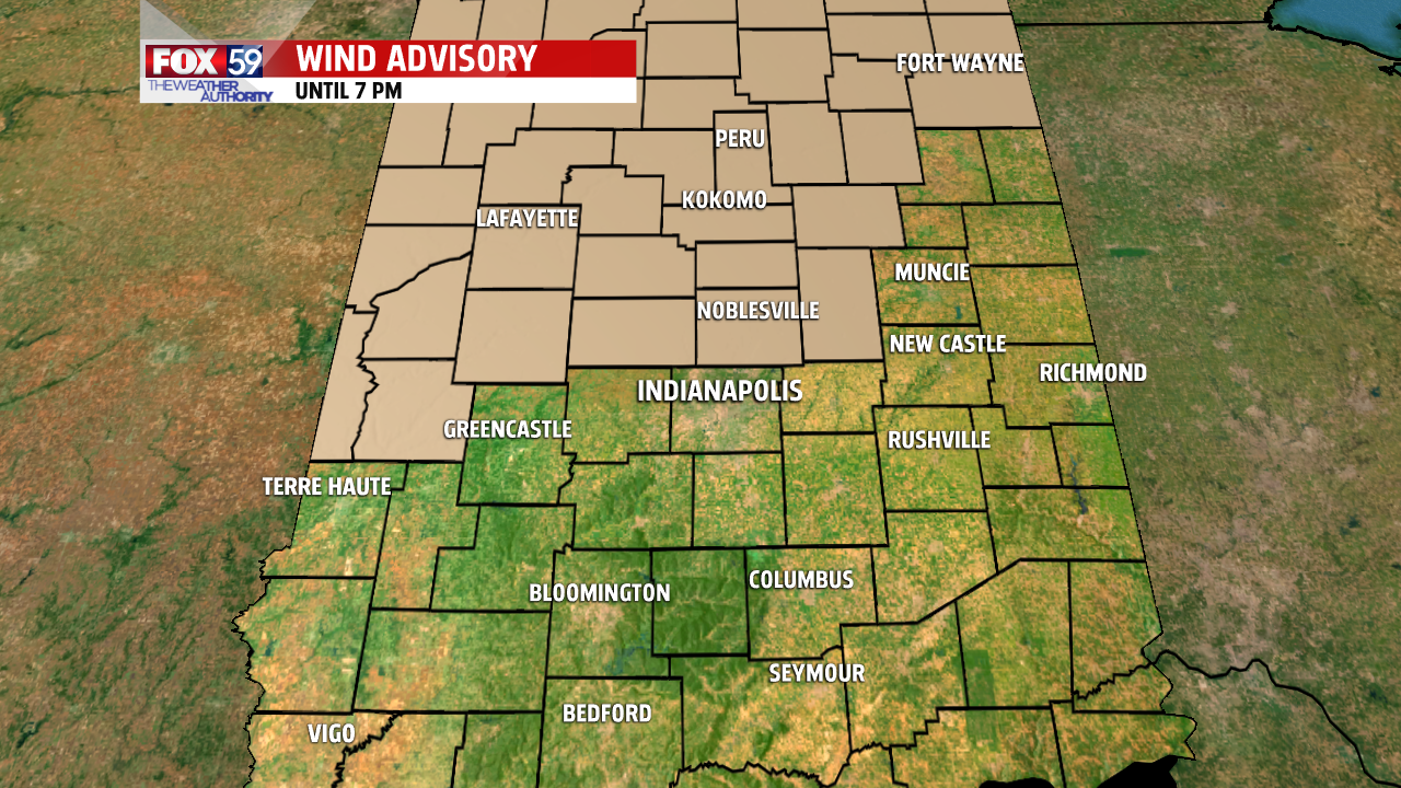 DMA Wind Advisory