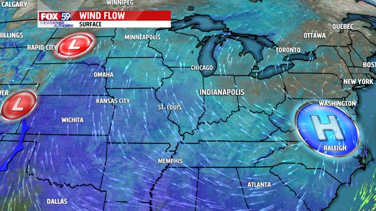 National Wind Flow