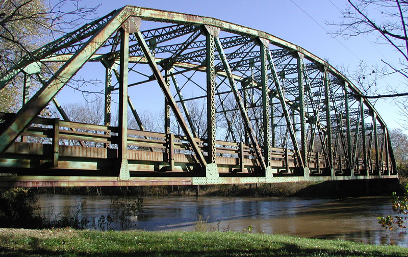 State Road 44 Bridge over Sugar Creek in Shelby County / courtesy of INDOT