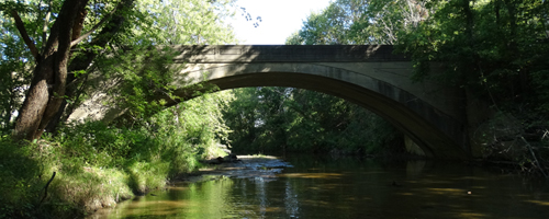 West Fork Big Walnut Creek in Hendricks County /courtesy of INDOT