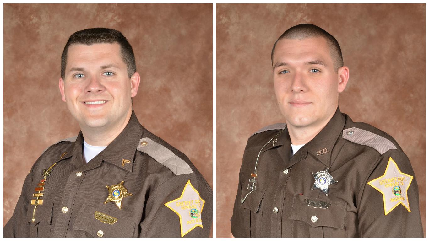 Deputy Buckley (left) & Deputy Koontz (right)