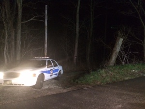 Scene where police say Shaylyn Ammerman's body was found.