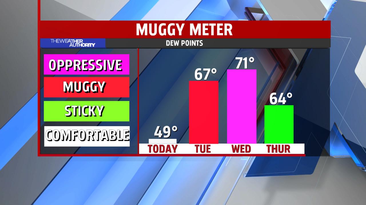 Muggy Meter