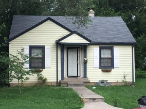 This is the house where the woman was found chained up