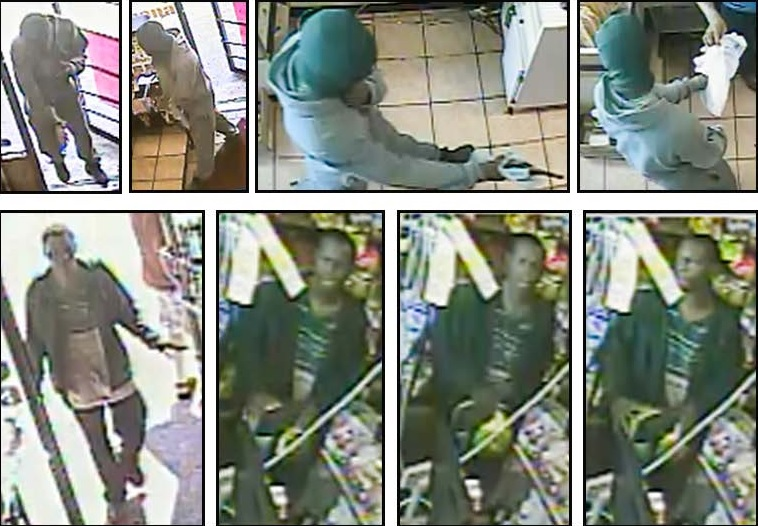 Photos of the suspect courtesy of Crime Stoppers.