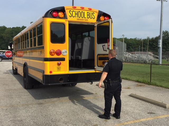 Putnamville school bus inspection two