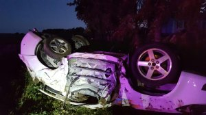 Photo of the crash.