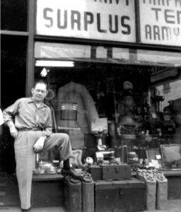 dave-bernstein-in-front-of-downtown-surplus-store-34-w-ohio-st