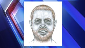Sketch of the suspect provided by IMPD.