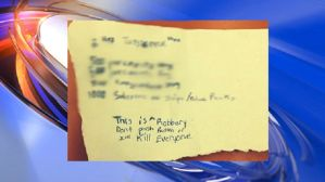 cvs robbery note juvenile CBS 2