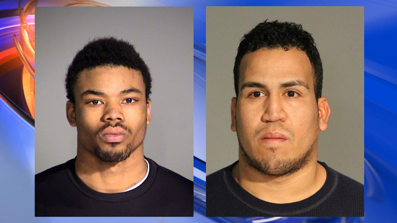 Mug shots courtesy of IMPD: Andre Edwards (left), Pablo Rodriguez (right)