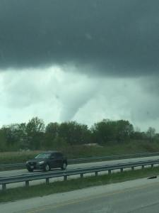 Photo from David Peck just south of Lebanon