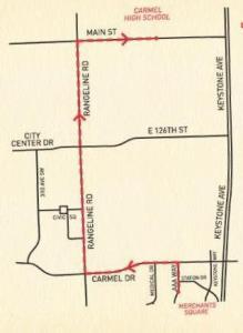 CarmelFest Parade Route