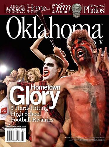 Top Football Rivalries - Courtesy: Oklahoma Magazine