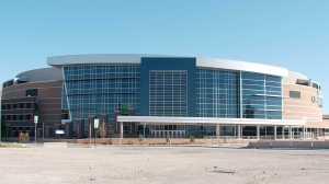 Chesapeake Energy Arena new entrance
