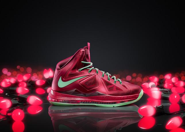 Lebron Christmas shoe Nike.com
