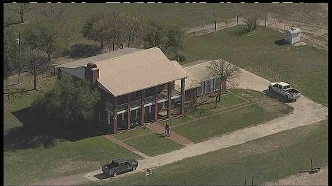 Texas home where shooting happened.