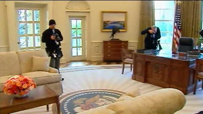Oval Office Bush Library