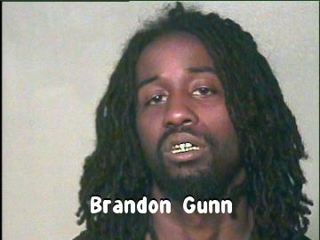 drug car chase Brandon Gunn