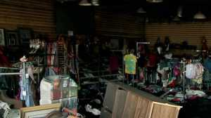 Bethany thrift store fire