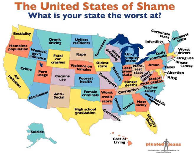 United States of Shame