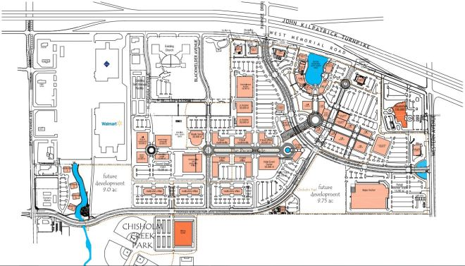 Site Plan for Chisholm Creek