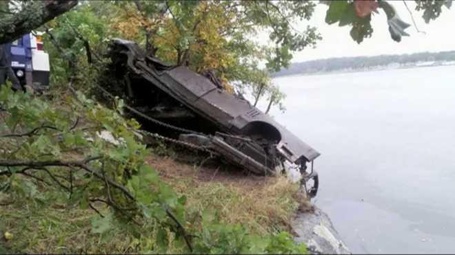 Claremore lake car 2
