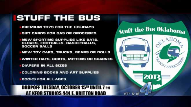 Stuff Bus items