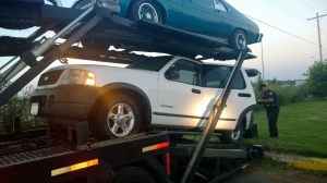 SUV from $2.3 million Canadian County meth bust