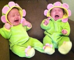 screaming flower babies