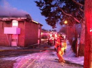 Tulsa apartment fire - KJRH