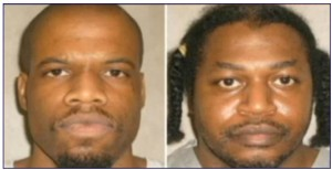 Clayton Lockett, left, and Charles Warner, right, are suing the state over its lethal injection process.