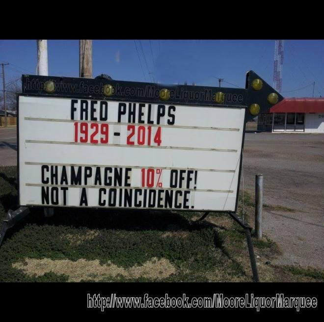 Moore liquor Fred Phelps Westboro
