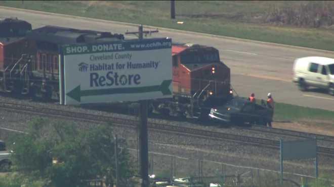 Norman train vs. truck