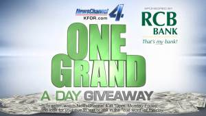 One Grand A Day Giveaway