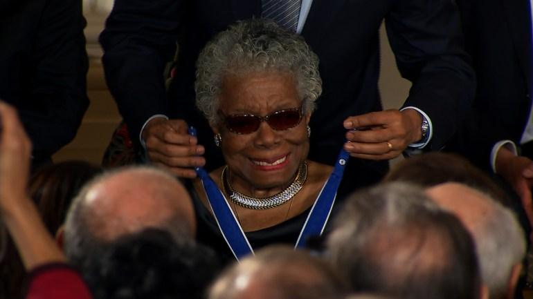 FILE -- Dr. Maya Angelou