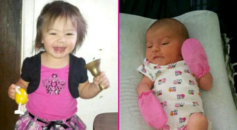 Three little girls were found stabbed to death at a home in Torrance on May 20, 2014. Third not pictured (Facebook via KTLA)