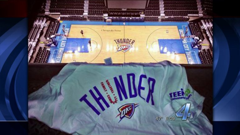 OKC Thunder game 5 playoff shirt